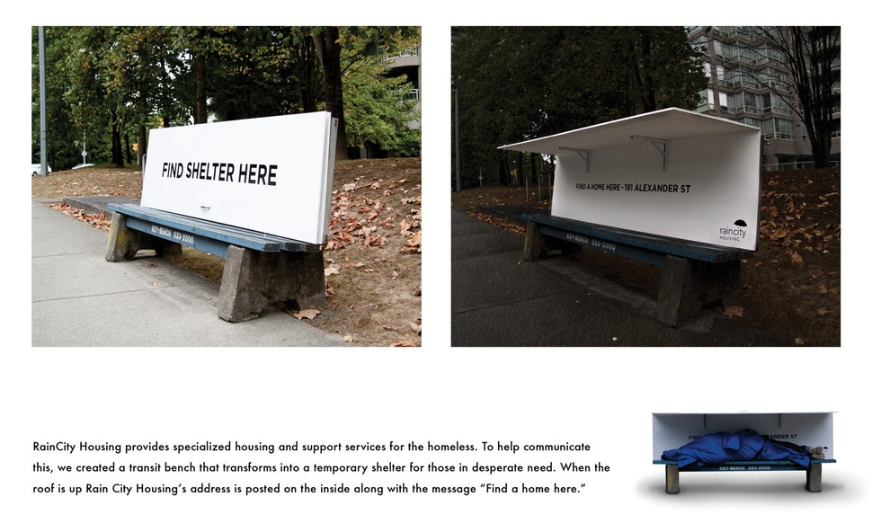 Our Bench campaign
