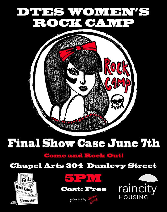 DTES Women's Rock Camp
