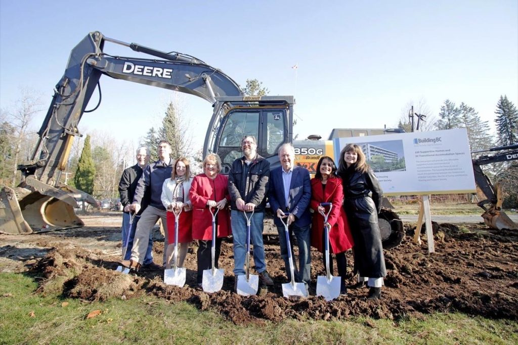 Green Timbers in Surrey Breaks Ground
